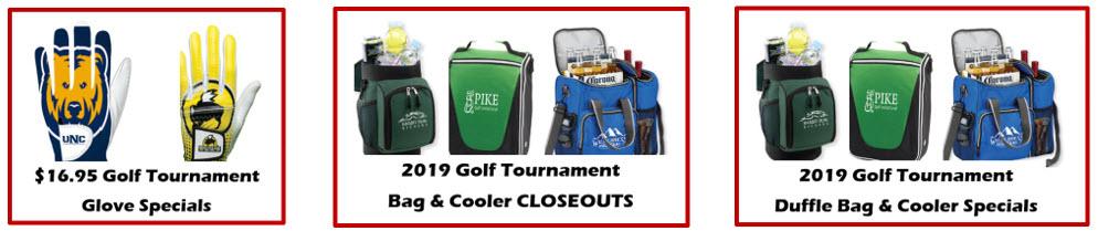Every Brand Apparel Golf Tournament Specials